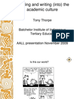 AALL Tony Thorpe