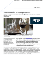 Vinho também entra na mira do protecionismo - Economia - Notícia - VEJA