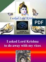 I Asked Krishna
