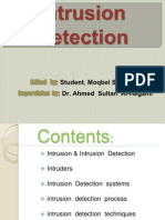 مقبل الحاج Intrusion Detection