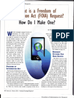 What is a FOIA Request and How Do I Make One?