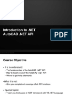 AutoCAD .NET Training