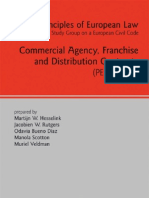 Commercial Agency_ Franchise and Distribution Contracts (Principles of European Law Study Group on European Law)