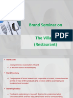 Brand Seminar-The Village