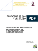 Port a Folio de Evidencias Plan de Vida