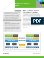 VMware vCenter Site Recovery Manager With vSphere Replication Datasheet
