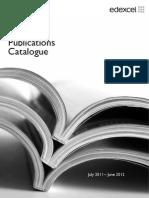Full Publications Catalogue 2011