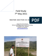 Water Sector in Dili Timor Leste - Field Study