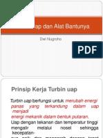 Turbin Uap Dan Alat Bantunya
