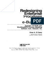 Redesigning Enterprise Process for E-Business