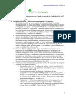 Recomendaciones La Ciudad Verde a Plan Dllo Medellin