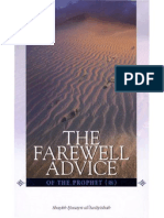 83615003 the Farewell Advice of the Prophet