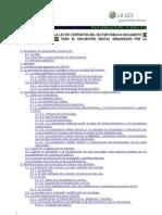 El texto refundido de la Ley de Contratos del Sector Público