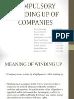 Compulsory Winding Up of Companies_ Grp 6