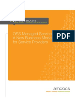 OSS Managed Services – A New Business Model for Service Providers