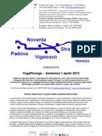VogaPiovego 2012 comunicato