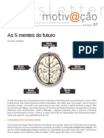 Motivacao 007 as 5 Mentes Do Futuro