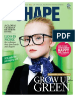 SCA magazine SHAPE 1 / 2012 focusing on green money
