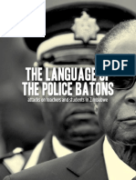 The language of the police battons
