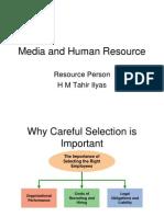 Media and Human Resource