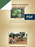 Agri Based Livelihood