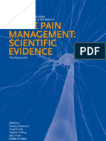 ACUTE PAIN MANAGMENT Scientific Evidence