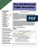 Inspección coro paralelo  The LPS-Richmond PUMA Newsletter: Go Pumas!!!