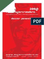 Dossier Ponencias 2008