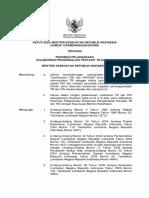 Kepmenkes No.1278 Tahun 2009 Ttg Pedoman Pelaksanaan Kolaborasi PenyakitTB Dan HIV