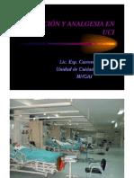 Analgesia Sedacion