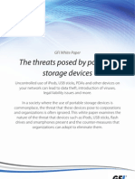 The Threats Posed by Portable Storage Devices
