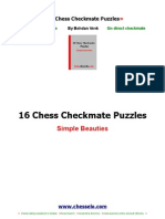 16 Checkmate Puzzles