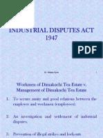 Industrial Disputes Act-1947