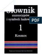 Jerzy Bartmiński - Słownik stereotypów i symboli ludowych - tom 1