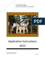 Application Instructions 2012