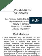 Kuliah Umum Penyakit Mulut