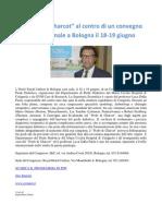"""Il """"Piede di Charcot"""" al centro di un convegno internazionale a Bologna il 18-19 giugno"""