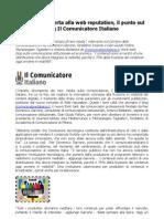 La Rai si converta alla web reputation, il punto sul blog Il Comunicatore Italiano