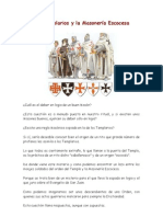 Los Templarios y La Masoneria Escocesa
