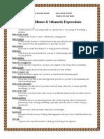 English Idioms and Phrasal Verbs