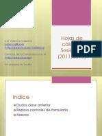 INF - Hojas de cálculo 11