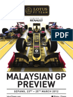 2012 Malaysian GP Preview
