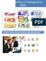 Computer Application for Business