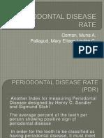 Osman, Pallagud - Periodontal Disease Rate New