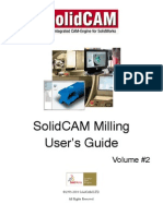 Solidcam - Integrated Cam Engine for Solid Works - Manual - Milling Book Vol2 Screen