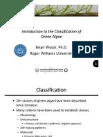 2 2 Introduction Classification Green Algae 2