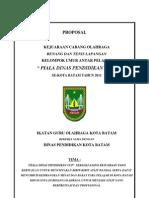 Proposal Dinas Pendidikan Cup 2011