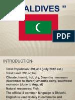 Maldives- Pestl Analysis