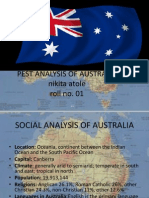 Pest Analysis of Australia
