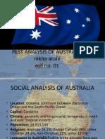Pest Analysis of Australia